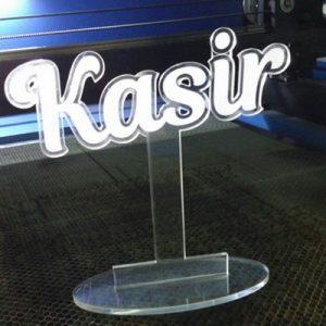 Vandel Akrilik Kasir